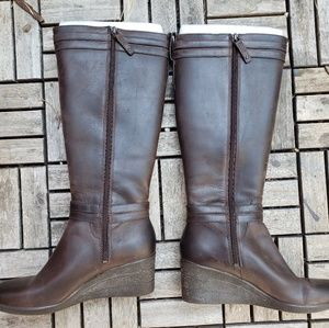 38621e826ae UGG Shoes - UGG AUSTRALIA IRMAH STOUT BROWN BOOT SIZE 9